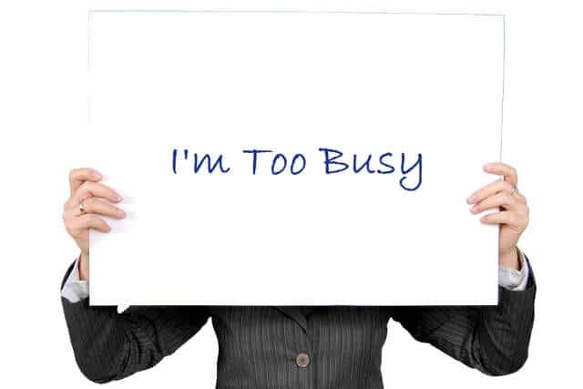 construction marketing blog how to handle i m too busy